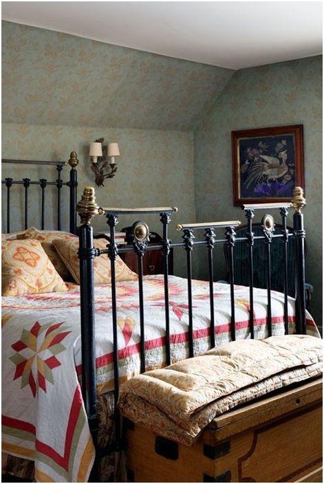 Спалня във винтидж стил