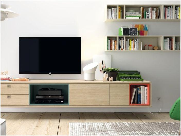 Модулни мебели за всекидневна
