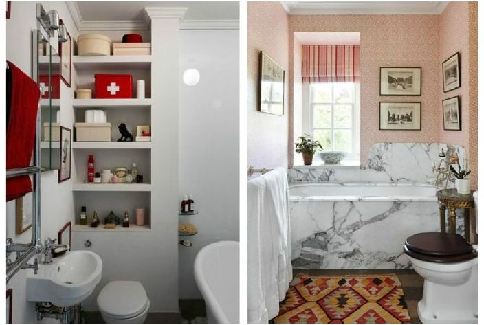 Свежие идеи для маленькой ванной комнаты
