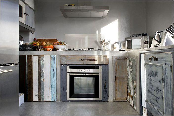 Необычная мебель в интерьер кухни