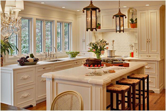 Интерьер кухни от Alicia Shearer Interior Design