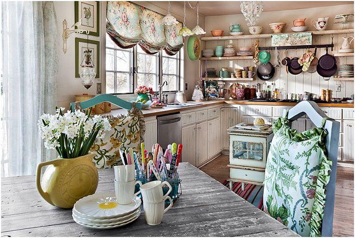 Интерьер кухни от Pam DiCapo
