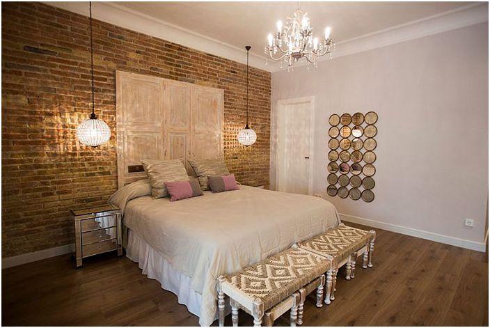 Интериор на спалнята от Пиа Капдевила