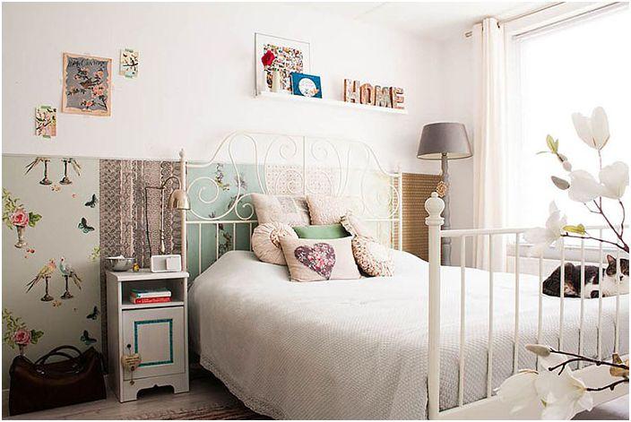 Интериор на спалнята от Луиз де Миранда