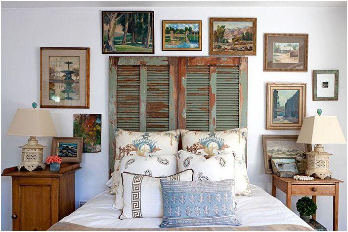 Интериор на спалнята от Leslie L. Hunt Интериорен дизайн