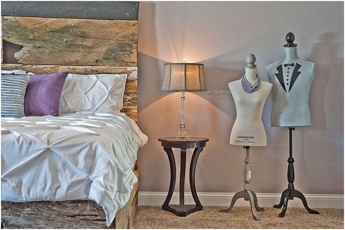 Интериор на спалнята от Лора Гарнър