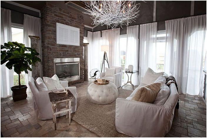 Интериор на хола от R. Cartwright Design