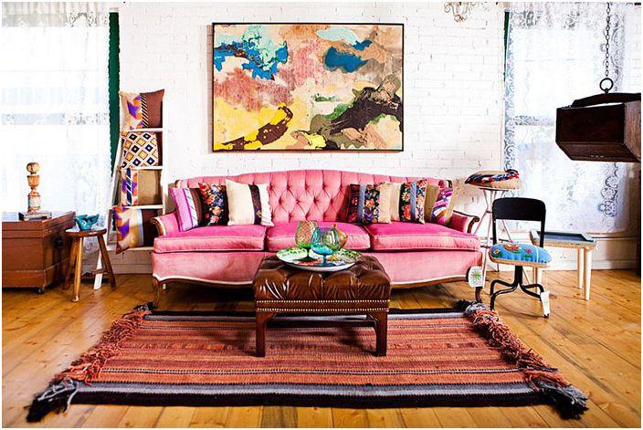Интериор на хола от Vintage Renewal