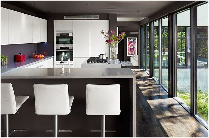 Кухненски интериор от Specht Harpman Architects