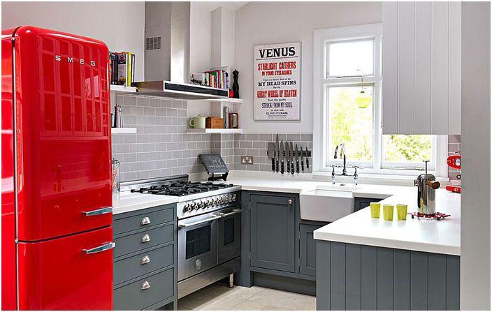Интериор на кухнята Williams Ridout