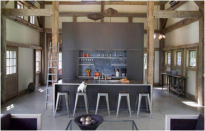 Кухненски интериор от James Dixon Architect