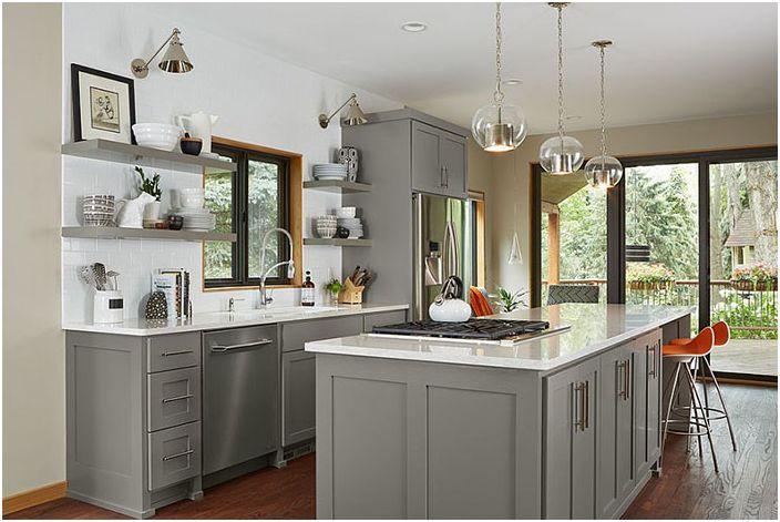 Кухненски интериор от Fiddlehead Design Group