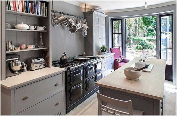 Кухненски интериор от Russell Taylor Architects