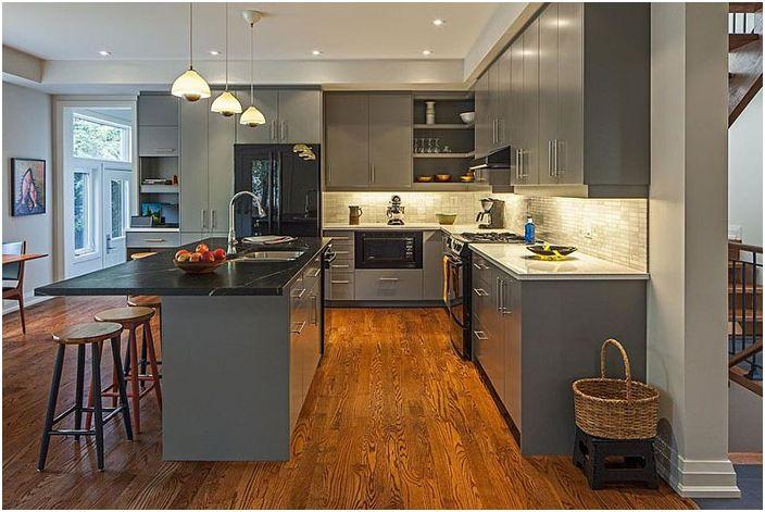 Кухненски интериор от Vanbetlehem Architect