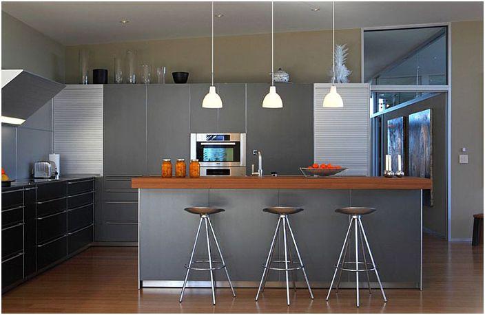 Кухненски интериор от Webber + Studio, Архитекти
