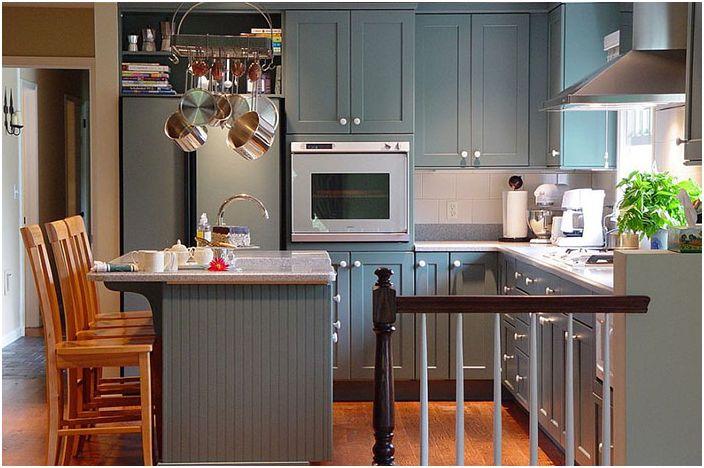 Кухненски интериор от Маги Макманус Кухни и вани