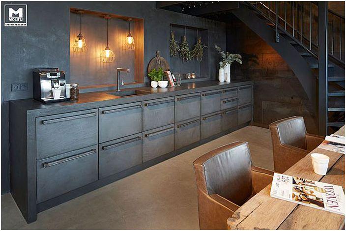 Кухненски интериор от Molitli Interieurmakers