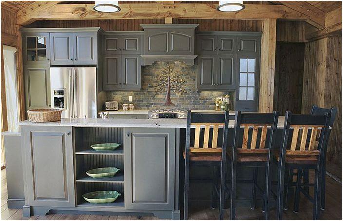 Кухненски интериор от компания Southport Cabinet