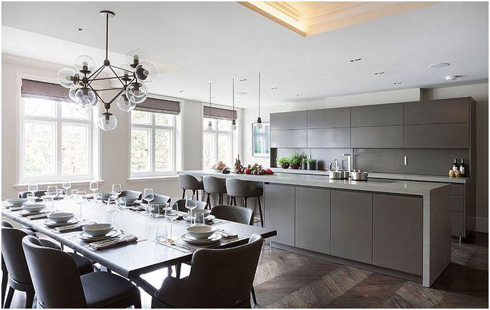 Кухненски интериор от Eggersmann London