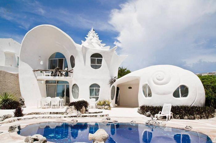 «Casa Caracol» - дом-ракушка.