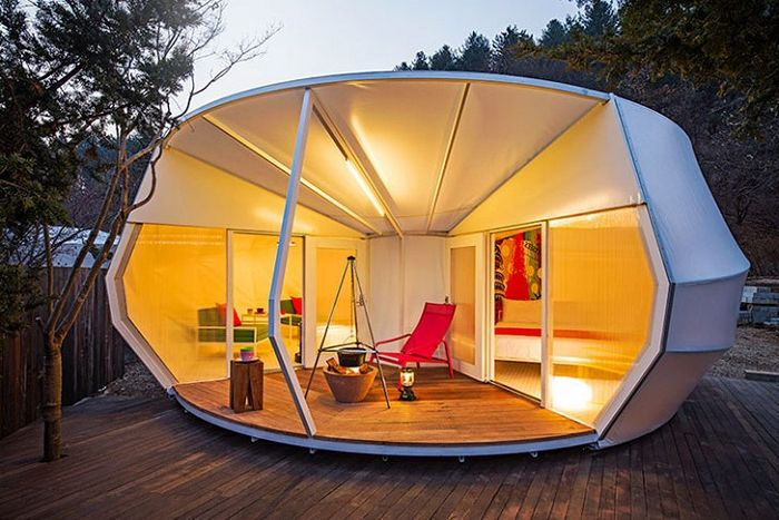 Glamping for Glampers to koreańska wersja namiotów glamour.