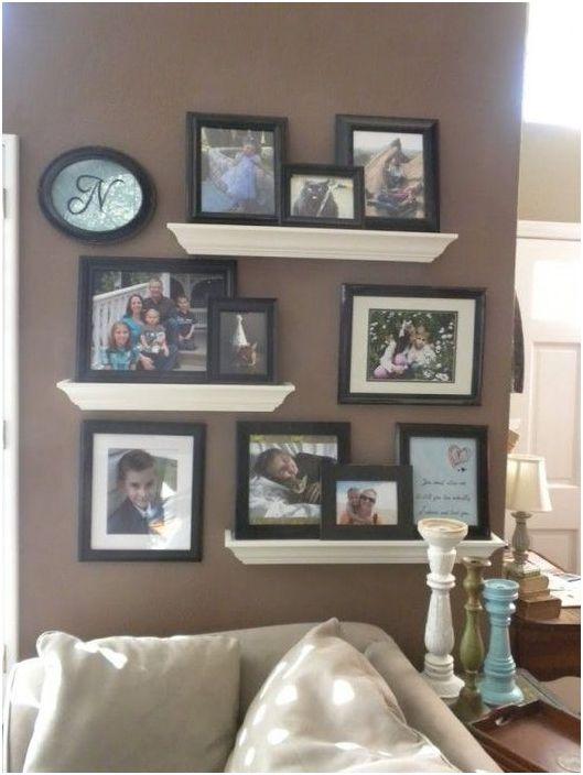 Ekspozycja zdjęć rodzinnych