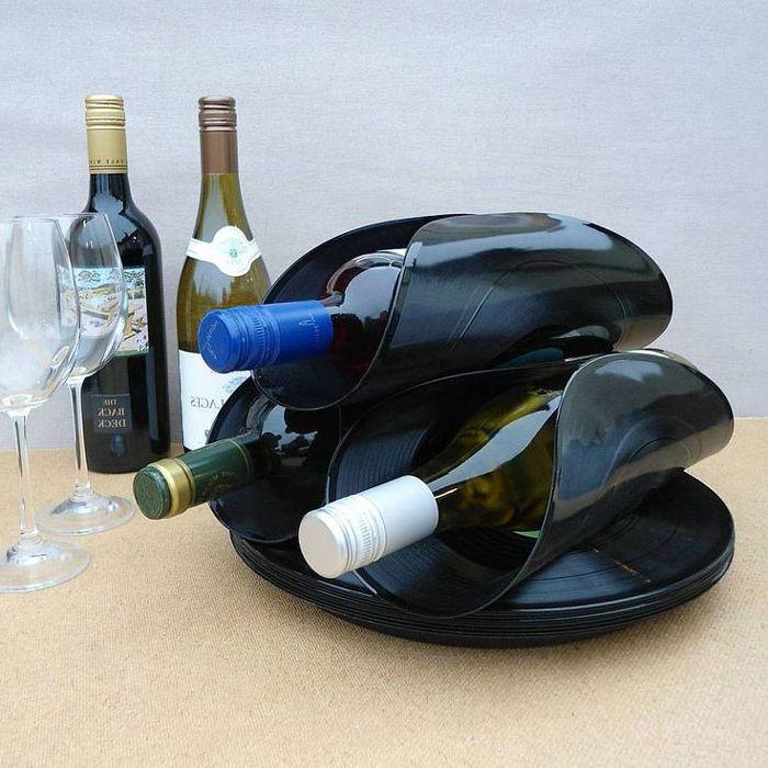 Оригинални стойки за бутилки за вино