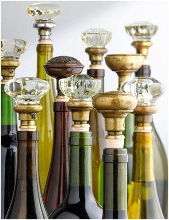 Décoration de collection de vins