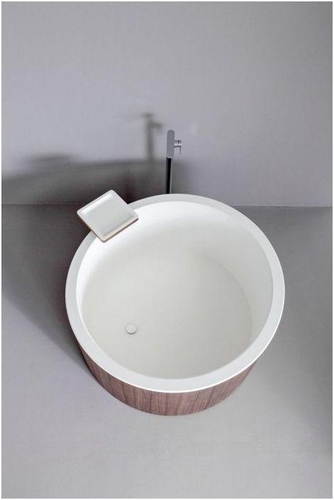 Кръгла мини вана