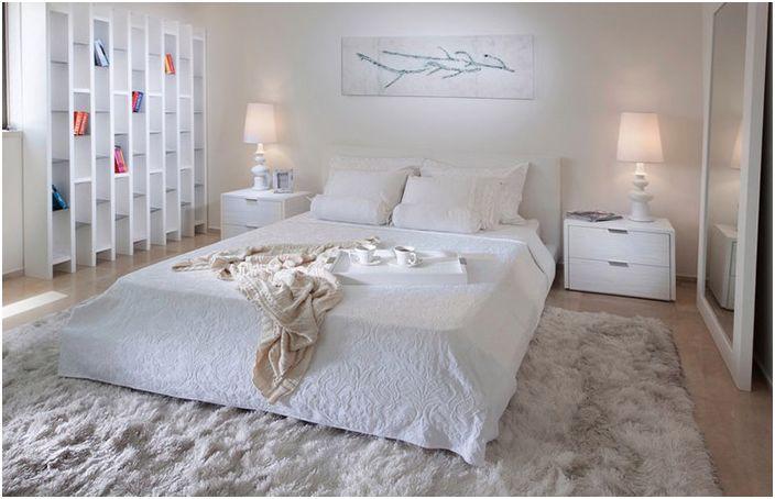 Wnętrze sypialni autorstwa Elada Gonena