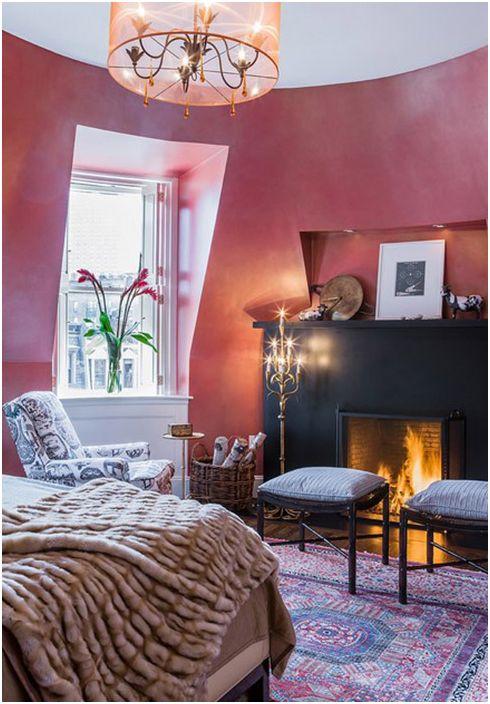 Wnętrze sypialni Annie Hall Interiors