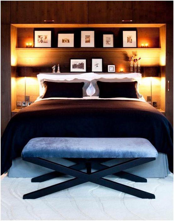 Intérieur de la chambre par Inspired Design Ltd
