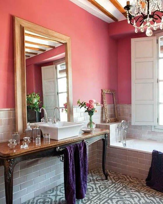 Цвет Клубничное Мороженое для оформления стен.