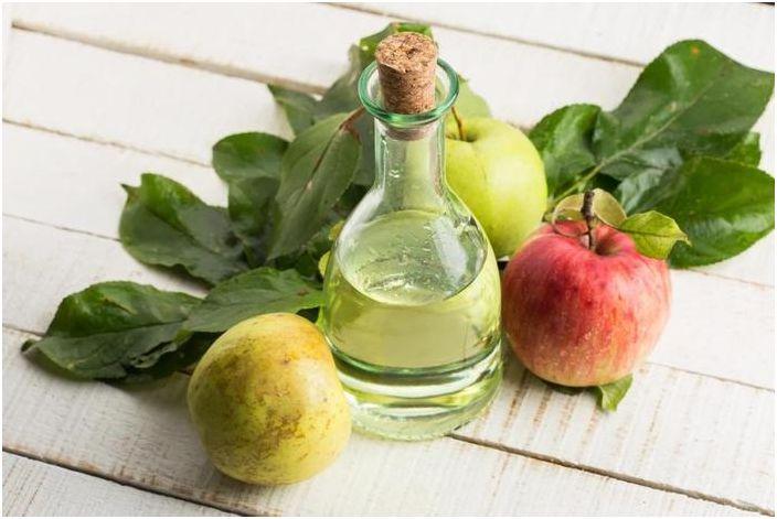 Ябълковият оцет е мощно почистващо средство