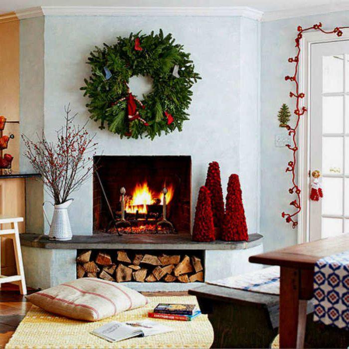 Wspaniała świąteczna dekoracja.