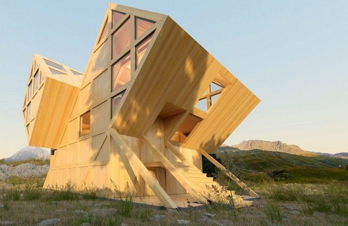 Проект на украинския архитект Константин Кувика.