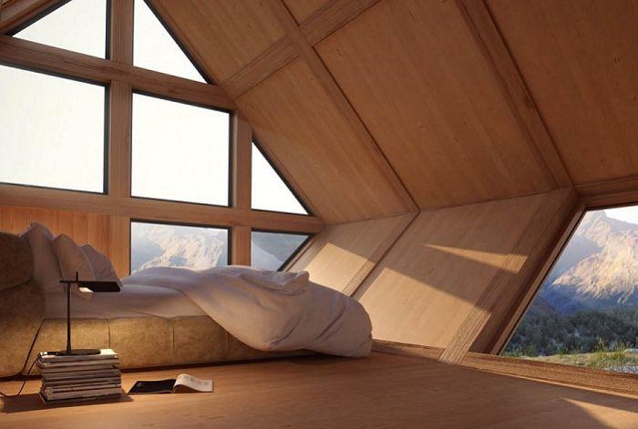 Valley House. Спалня.