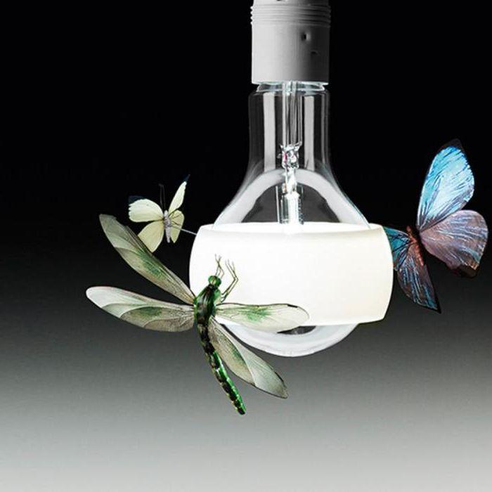 Всички насекоми са ръчно изработени от Греъм Оуен.