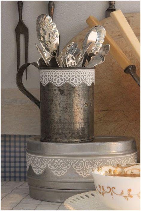 Koronka w kuchni