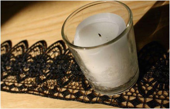 Koronkowe świeczniki