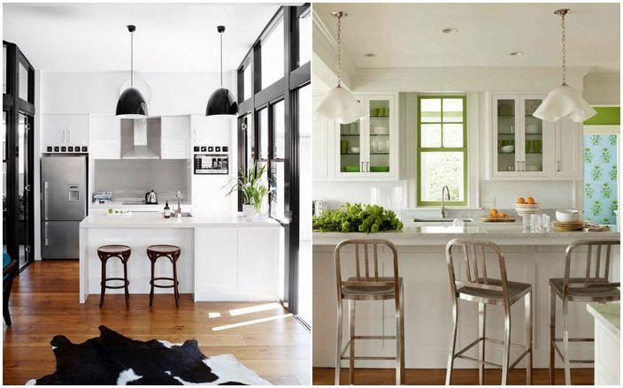 Hvitt kjøkken: 40 fantastiske hvite interiører som ikke er kjedelige i det hele tatt