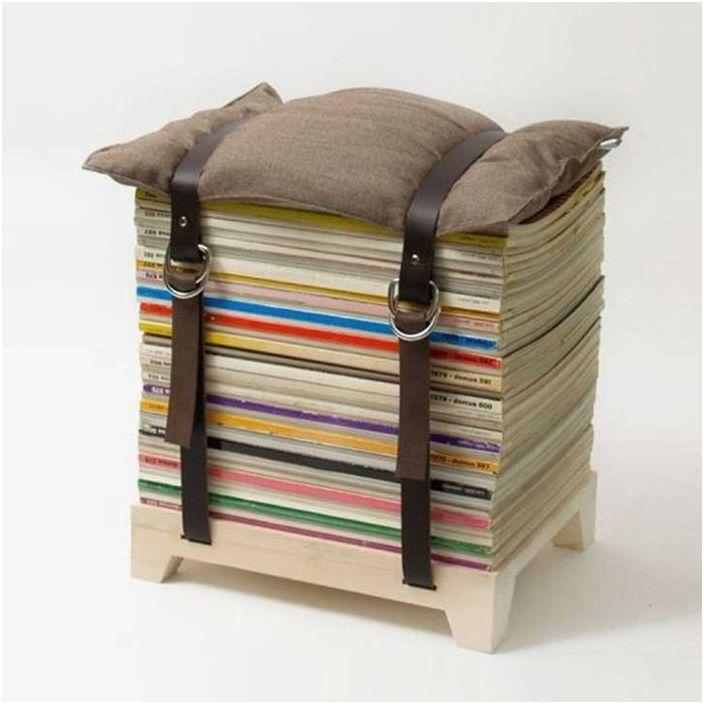 Стилно столче за списания