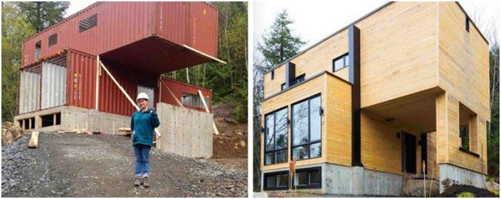 Клауди Дъброй е момичето, което сама е проектирала къщата.