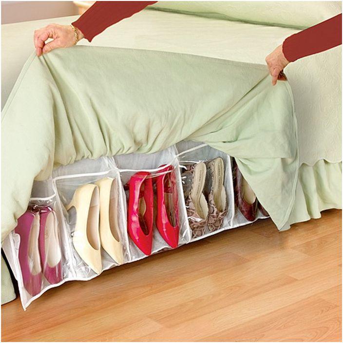 Съхранение на дамски обувки
