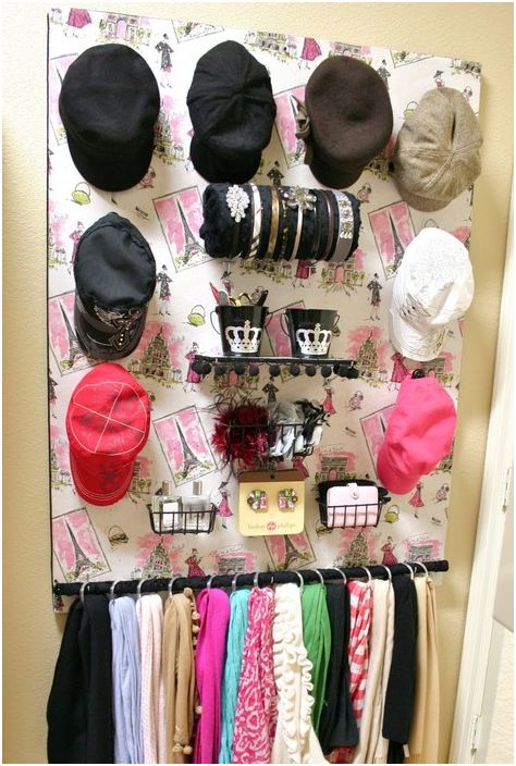 Съхранение на горни шапки