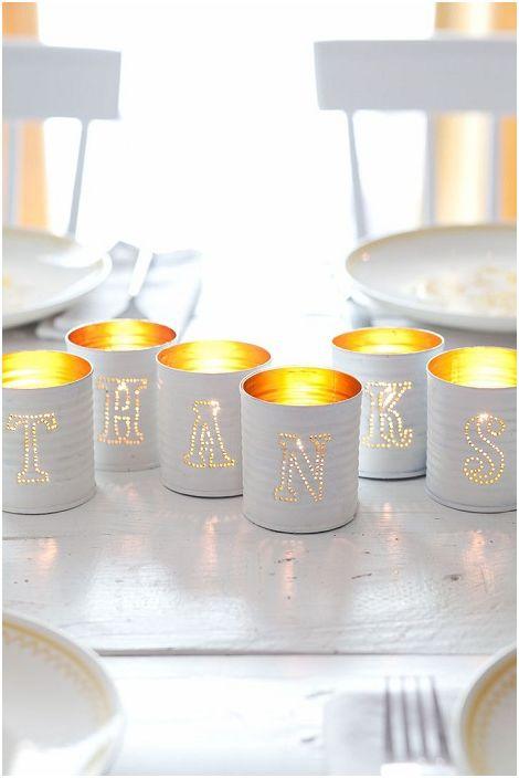 À l'aide de canettes qui fuient, vous pouvez laisser un message intéressant à vos proches et à vos proches.