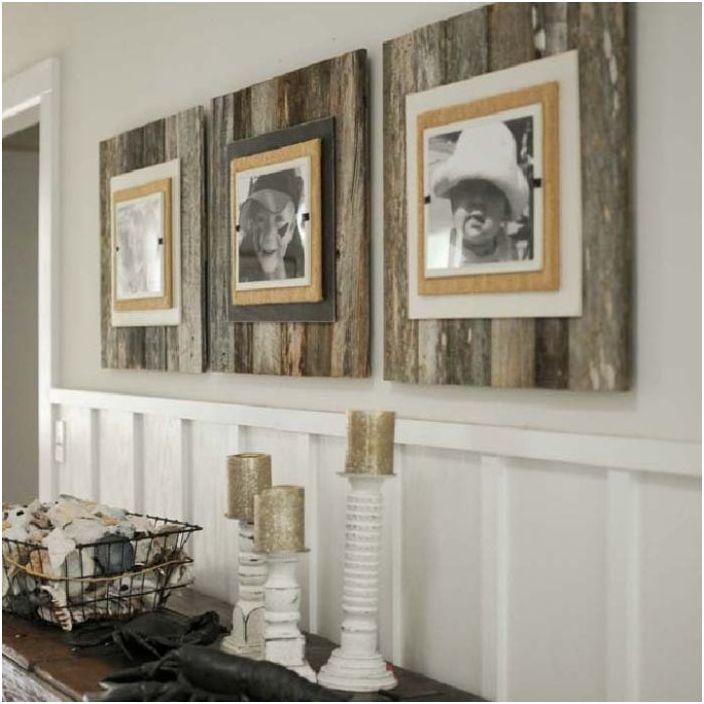 Дървени рамки за снимки