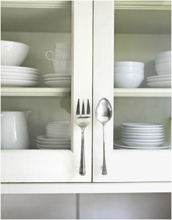 Дръжки за кухненски шкафове за прибори