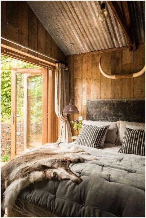 Małe wnętrze sypialni