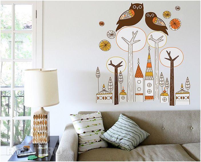 Перфектна декорация на стена за стая за творческо настроение.